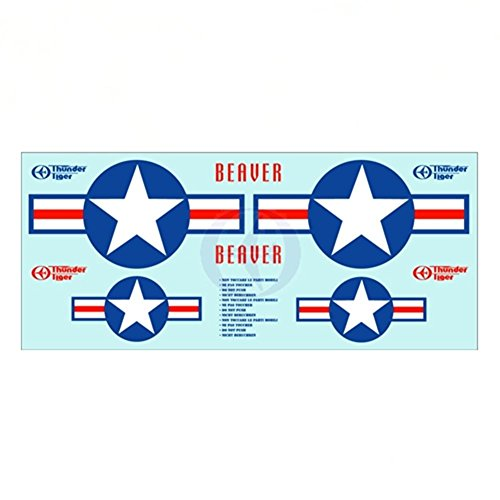 (Thunder Tiger Decal Sheet 4593 AS6698 TRS)