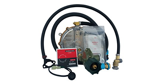 Hutch Mountain New Honda EU2200i Propane, Natural Gas & Gasoline Generator TriFuel Kit (Tri Fuel Propane Natural Gas Generator Conversion Kit)