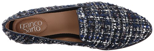 Sarto Women's Blue Fabrina Flat Franco 400 Loafer a6UxPqdUwp