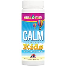 Natural Vitality CALM Kids, The Kids' Calm-Focus Drink Mix, Berry, 8oz
