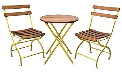 Amazon.com: Innova Uptown 3 pieza plegable Outdoor Bistro ...