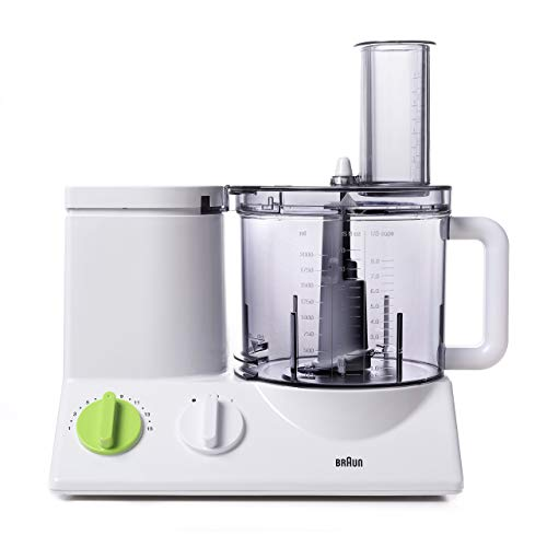 BRAUN FP3020 Food Processor With The Coarse Slicing Insert Blade And French fry System Bundle - 3 items (Renewed)