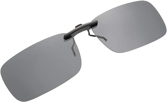 SKYSPER Gafas de Sol Polarizadas Clip Lentes de Espejo de Retro ...