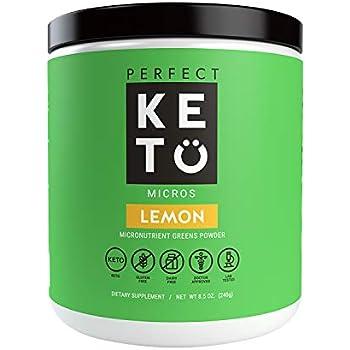 Amazon Com Perfect Keto Greens Superfood Powder Super