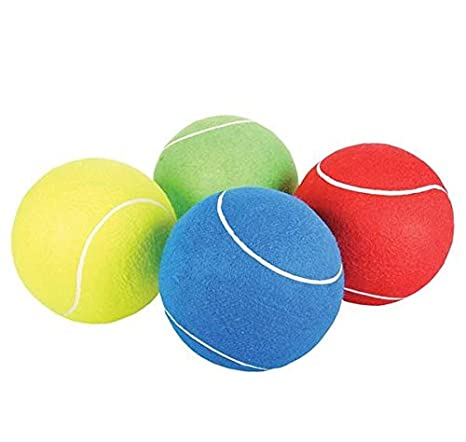 Amazon.com: (LOT OF 4) JUMBO TENNIS BALL 8: Clothing