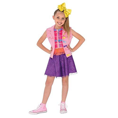 Rubie's JoJo Siwa Boomerang Music Video Outfit Costume, Multicolor, Small ()
