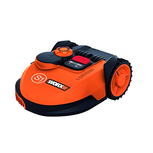 WORX WR105SI 20 V S450 Landroid Wi-Fi Enabled Robotic Mower - Orange