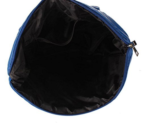 main main Sac Girl FeiTong à Space en à bandoulière Coton Sac Femmes Bleu plumes Sac à 5x0FTzw