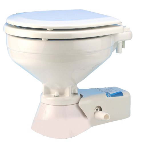 JABSCO Jabsco Standard Height Quiet Flush Electric Toilet -