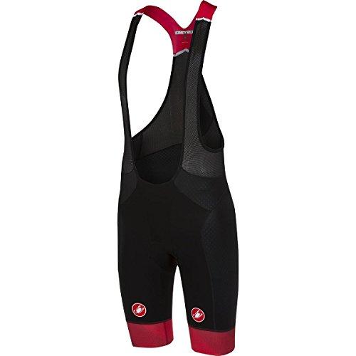 Castelli Free Aero Race Kit Version Bib Short - Men's Black/Red, L