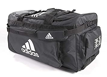 Image Unavailable. Image not available for. Colour  adidas Sports Bag with  Wheels Judo Design Black def9406f986f3