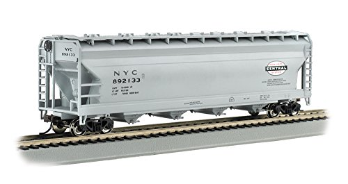 Bachmann Trains New York Central-Gray 56' Acf Center-Flow Hopper-Ho ()
