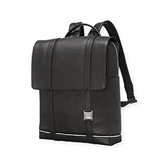 Moleskine Lineage Backpack, Leather, Black