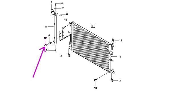 Amazon com: Volvo (99-11) A/C Pressure Switch on Receiver