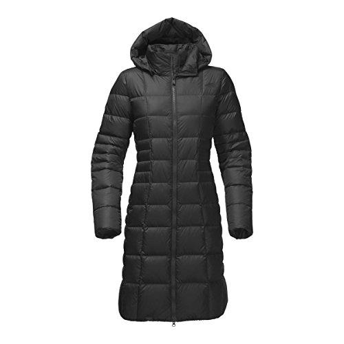 The North Face Fur Parka - The North Face Women's Metropolis Parka II - TNF Black/TNF Black Disrupt Camo - XL (Past Season)
