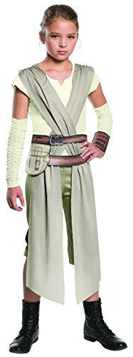 [Star Wars: The Force Awakens Child's Rey Costume, Medium] (Star Wars Dress Up Costumes)