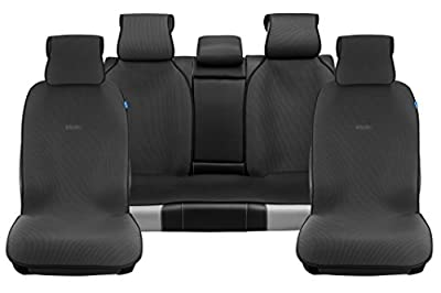 SOJOY Universal Four Seasons Full Set OF Car Seat Cover and Cushions