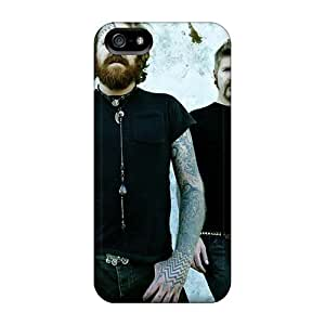 Iphone 5/5s BMp6404VWlM Allow Personal Design Lifelike Foo Fighters Pictures Scratch Resistant Cell-phone Hard Cover -PhilHolmes