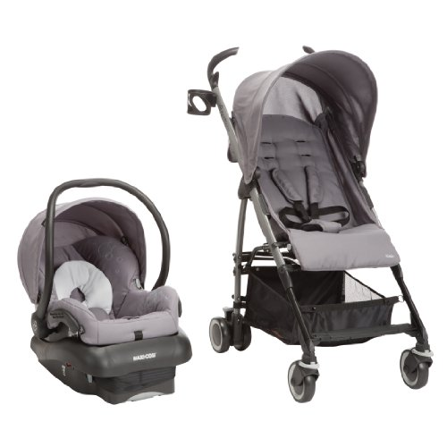 Maxi-Cosi Kaia and Mico NXT Travel System, Steel Grey