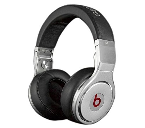 Monster Beats By Dr Dre Pro Headband Over Ear Headphones - By Monster - Black / Silver
