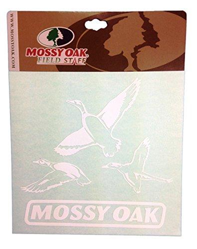 Mossy Oak Field Staff Window Decal Sticker 6 X 6 Mossy Oak Field Staff Flying Duck Window Decal (Plus Free Bonus Decal)