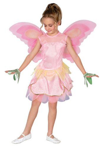 Elina Fairy Barbie Fairytopia Costume, Small