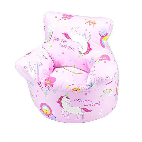 Childrens Bean Bag Chair 100 Cotton 7 Designs Childrens Bean Bag Chair Extra Small 50x50x50cm For 0 3 Years Unicorn Buy Online In Martinique At Martinique Desertcart Com Productid 99071555