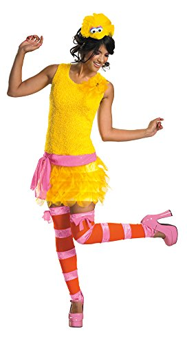 Big Bird Sassy Costume - Medium - Dress Size 8-10