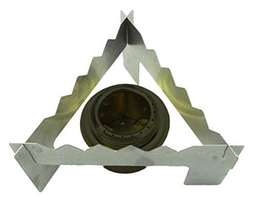 Simple and Easy Triangle alcohol stove stand with storage bag For Sale