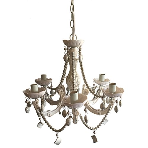 A&B Home 75765 Beaded Chandelier, 19 by 20-Inch