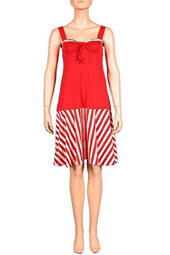 Rot Kleid L Dress 100 M S Trägerkleid Strandkleid cm Kirje Nanso XL Weiss Gr kurzes XS Ladies XXL 8qwHaOA