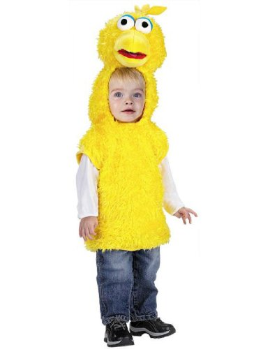 Big Bird Costume Girl - Toddler Big Bird Costume -Small 2T