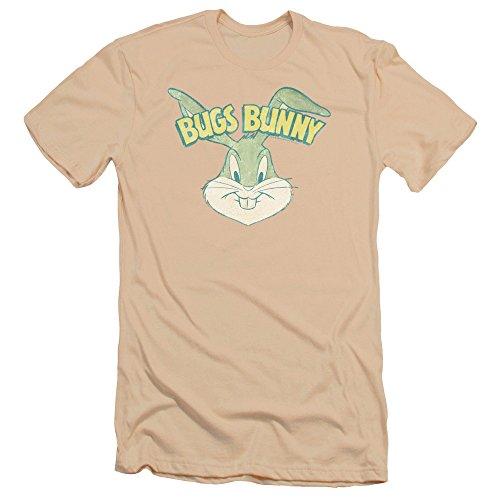 Bugs Bunny Head (Bugs Bunny Head Premium T-shirt, Cream, Medium)