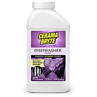 Cerama Bryte Powerful Interior Dishwasher Cleaner, 16 Ounce, (1 Count), White