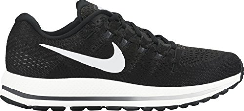 Nike Mens Air Zoom Vomero Running Shoes Black/White/Anthracite 9.5 D(M) US