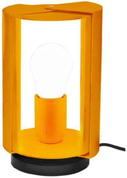 Nemo Lighting pivotante à Poser lámpara de mesa amarilla: Amazon ...