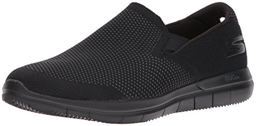 Skechers Performance Men's Go Flex 2-maneuver Sneaker, Black, 8 M US
