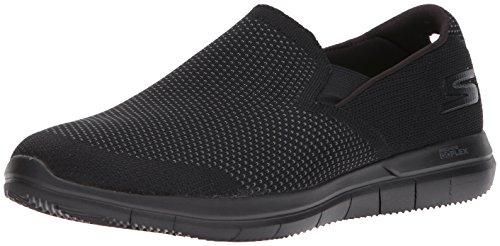 Skechers Performance Men's Go Flex 2-maneuver Sneaker,Black,7.5 M US (Skechers Rubber Shoes)