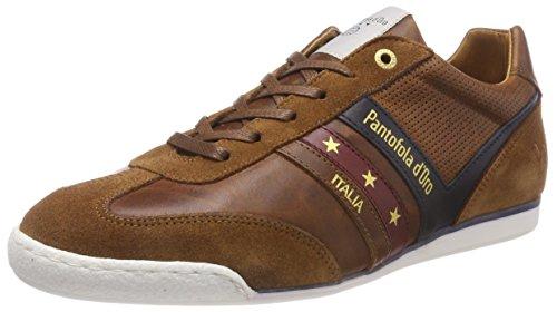 Pantofola d'Oro Vasto Low, Sneaker Uomo Marrone (Tortoise Shell .Jcu)
