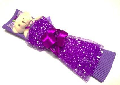 Beabuke Kumataba Bear Bouquet six boxes bouquet Valentine's Day gift to please and purple Purple