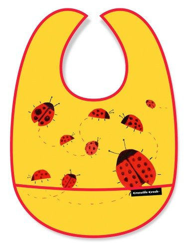Creek Bib Crocodile (Crocodile Creek Bib - Ladybugs in Motion)
