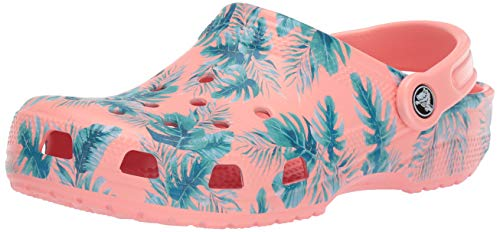 Crocs Classic 7h6 Graphic Adulto Seasonal melon Rosa Zuecos Clog tropical Unisex wwvnpx1qdr
