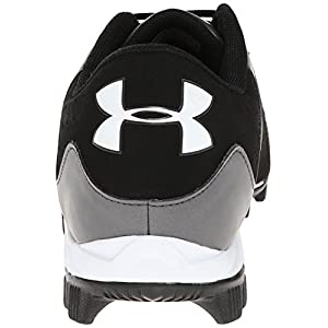 Under Armour Men's Leadoff Low RM Baseball Cleats Black/Charcoal Size 11.5 M US