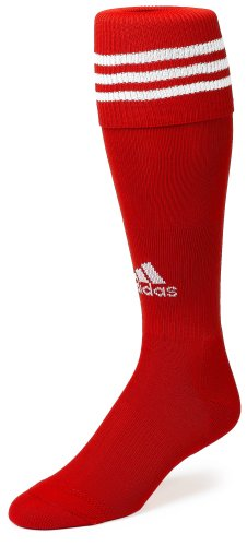 adidas Copa Zone Cushion Sock, University Red/White, Medium