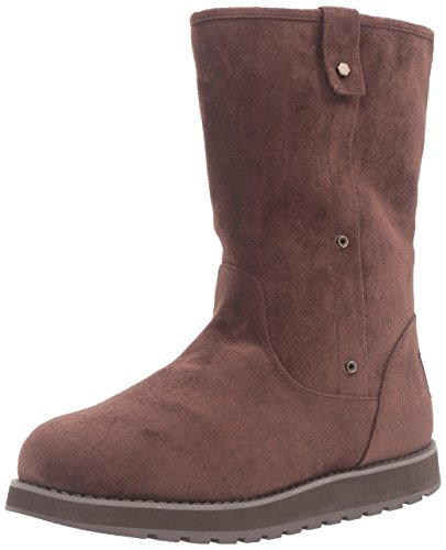 Skechers Womens Keepsakes - Mid Adjustable Winter Boot Chocolate