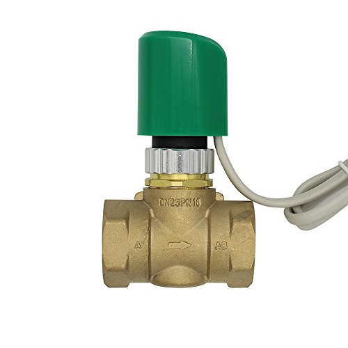 230V Normally Open Normally close Electric Thermal Actuator for flooring Heating radiator thermostatic brass valve DN20-DN25 - (Color: NC DN20)