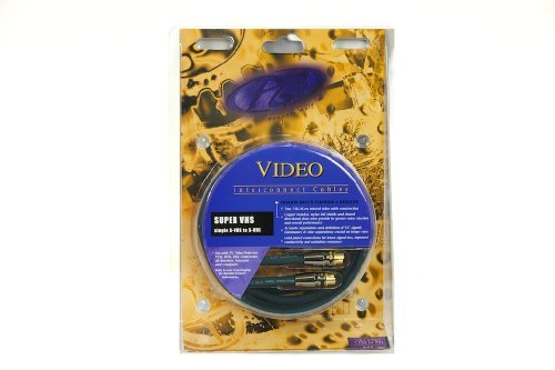Phoenix Gold VRX-620SV Gold Level High-Definition Twisted Coax S-VHS Cables 6.5 ft (Phoenix Gold VRX620SV)