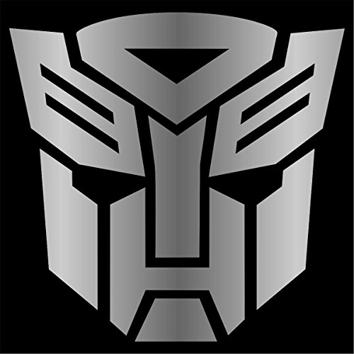 Cove Signs Autobot - Sticker/Vinyl Decal - Silver 4