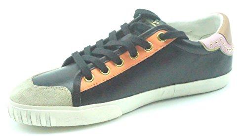 Ash Mambo Womens Seta / Nero Moda Casual Sneaker 370037