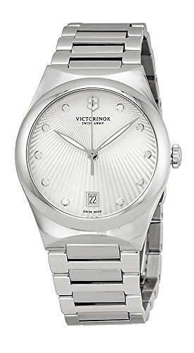 Victorinox Swiss Army Women's Quartz Watch Victoria 241630 with Metal Strap (Wrist Watch Swiss Army Quartz)